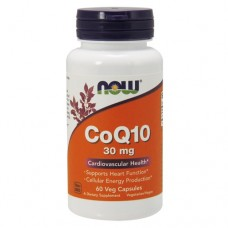 CoQ10 (Now), 30 мг, 60 вег.капсул