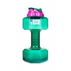 Бутылка-гантеля (Iron True) 2200 мл