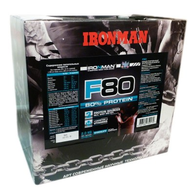 Turbo Mass Gainer (Iron Man), 1400 грамм